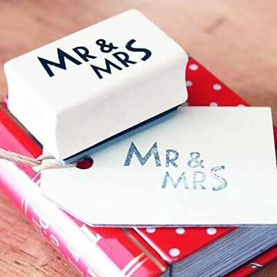 East Of India MR & MRS Rubber Stamp - Crafting - Wedding  • 2.75£
