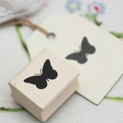 East Of India BUTTERFLY Rubber Stamp - Crafting - Christmas - Gift Wrap • 2.49£