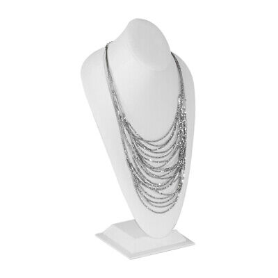 £29.04 • Buy 16.5  Tall Neck Form NECKLACE Display Bust Showcase Display Jewelry Bust Stand