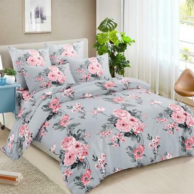 AU32 • Buy All Size Bed Ultra Soft Quilt Duvet Doona Cover Set Bedding Pillowcase Gloomy