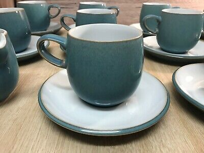 £9 • Buy Denby Azure Tea/Coffee Cup With Saucer