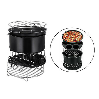 AU42.87 • Buy 12Pcs/Set 9 Inch Air Fryer Accessories For Philips Fit All Airfryer 4.2-8QT