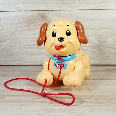 Vintage Fisher Price Pull-a-long Plastic Dog Plastic Version Of Lil' Snoopy • 6.99£