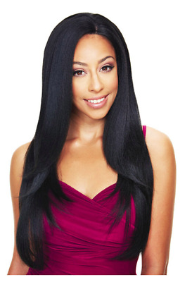 £35.99 • Buy  SLEEK KOURTNEY SYNTHETIC LACE FRONT WIG  Mid Length Super Straight