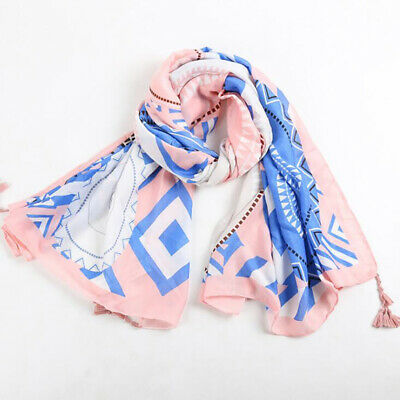 AU12.61 • Buy Outdoor Travel Scarf Ethnic Accessories Vintage Beach Towel Shawl And Wraps JJ