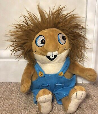 £6.50 • Buy Mercer Mayer Little Critter Soft Toy Plush 9  Blue Dungarees Crazy Hair USA Excl