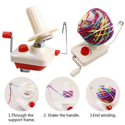Swift Yarn Fiber String Ball Wool Winder Holder Hand Operated New • 9.55£