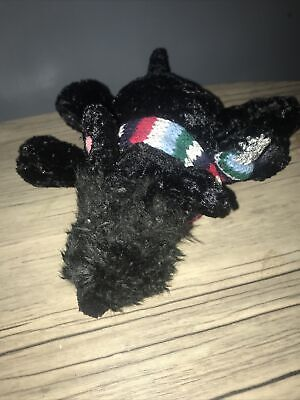 "Chilly And Friends Black Dog Soft Toy Approx 7"" • 8£"