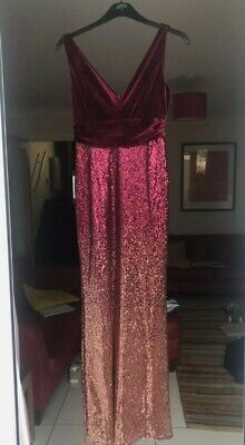 Sequin Ever Pretty Dress For Bridesmaid/Prom/Evening Dress. Size 10  • 30£