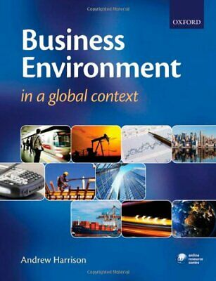 Business Environment In A Global Context, Andrew Harrison, Good Condition Book,  • 7.96£