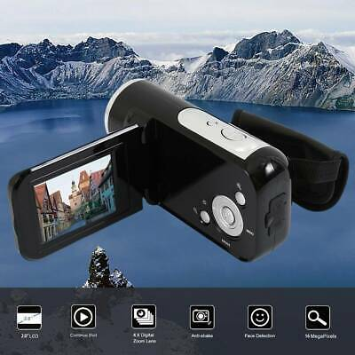 HD 1080P Digital Video Camera Recorder 16MP 4X Zoom Camcorder DV Night Light • 19.99£