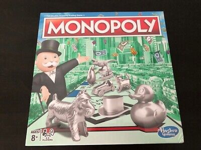 Monopoly Classic Board Game UK EDITION From Hasbro Gaming (Brand New And Sealed) • 28.99£