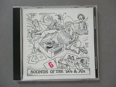 "Retro '90's STUDIO G TV Film Library Music CD 1995 'Sounds Of The '60's & '70's"" • 9.99£"