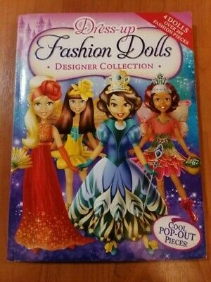 Dress-Up Fashion Dolls Designer Collection - Pop Out Activity Book - BRAND NEW! • 11.49£