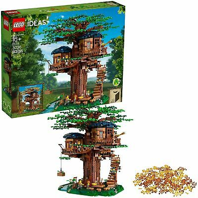 £204.61 • Buy LEGO Ideas 21318 Tree House Building Set - Brand NEW Ships Fast- Fort Clubhouse