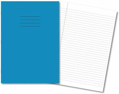 Pack Of 5 Hamelin Exercise Books A4 8mm Ruled & Lined 80 Pages - Light Blue  • 6.96£