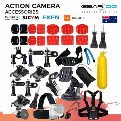 AU17.99 • Buy GOPRO Accessories Pack Action Camera Sports Bundle Pack Hero 9 8 7 6 5 4 3