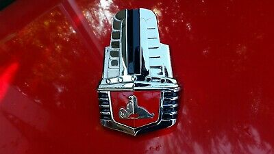 AU295 • Buy ANOTHER ORIGINAL GMH NASCO GRILL EMBLEM BADGE For HOLDEN FJ  RECHROMED RESTORED