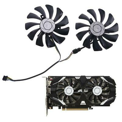 AU10.09 • Buy 1 Pair 85mm HA9010H12F-Z 4Pin Cooler Fan Replacement For MSI GTX 1060 OC 6G GTX