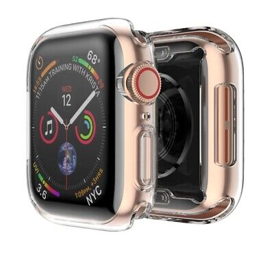 $ CDN4.96 • Buy Apple Watch Series 6 5 4 3 2 1 Screen Protector Case 42/38/40/44mm For IWatch