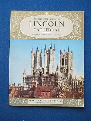 Lincoln Cathedral Guide Book - 1967  Pitkin Books • 4.95£