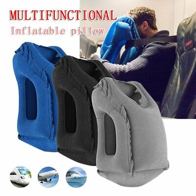 AU14.39 • Buy Inflatable Air Travel Pillow Cushion Neck Flight Comfortable Support Nap 2020 PE