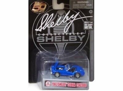 £14.99 • Buy Shelby Collectibles 1/64 1962 Shelby Cobra Csx2000 Blue