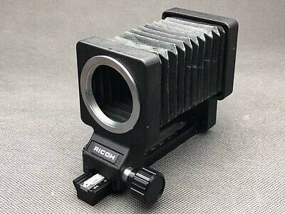 $34.50 • Buy RICOH Bellows For Macro Photography M42 Screw Universal Mount Camera