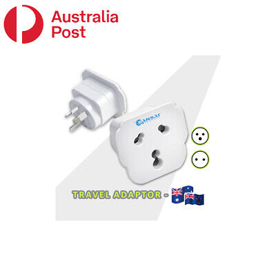 AU10.99 • Buy International Travel Adaptor From India And South Africa To Australia