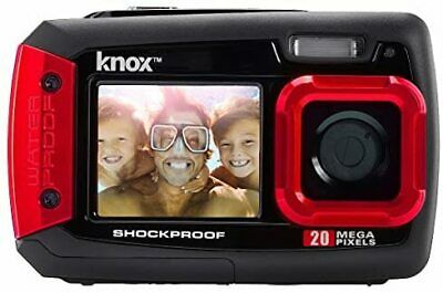 £35.99 • Buy Knox Gear Dual-Screen 20MP Rugged Underwater Digital Camera With Video (Red)