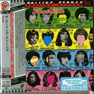 Some Girls - Rolling Stones (CD New) 4988031397589 • 30.65£