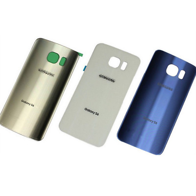 $ CDN7.64 • Buy For Samsung Galaxy S6 S7 S8 S9 Plus Note 8 Glass Battery Cover Back Replacement