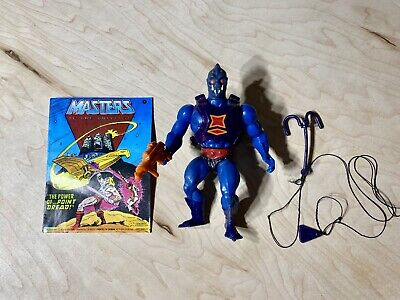 $59.99 • Buy Vintage MOTU Webstor Masters Of The Universe Figure Gun He-Man Complete