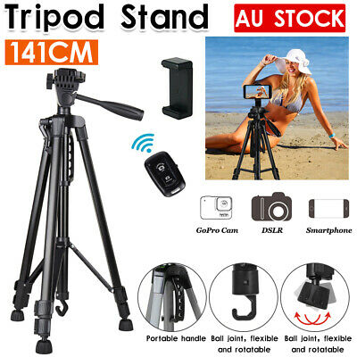 AU29.99 • Buy Professional Camera Tripod Stand Mount For DSLR GoPro IPhone Samsung Travel