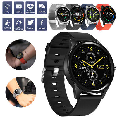 AU42.95 • Buy Smart Watch Blood Oxygen Pressure Fitness Tracker Waterproof For Android IPhone