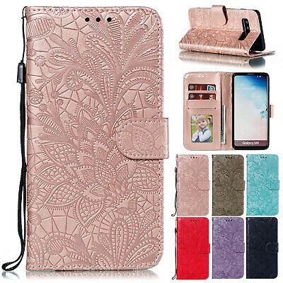 AU12.69 • Buy For Samsung S20 FE 5G S20 Ultra S10 Plus S9 Note 20 Leather Wallet Case Cover