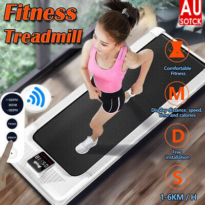 AU299.89 • Buy Electric Walking Pad Treadmill Home Office Exercise Machine Fitness LCD Display