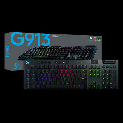 AU520 • Buy Logitech G913 RGB Wireless Mechanical Gaming Keyboard Clicky Tactile Linear