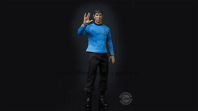 $ CDN444.05 • Buy QMx 1/6 Star Trek TOS Spock Classic Collection Action Figure In Stock PVC NEW