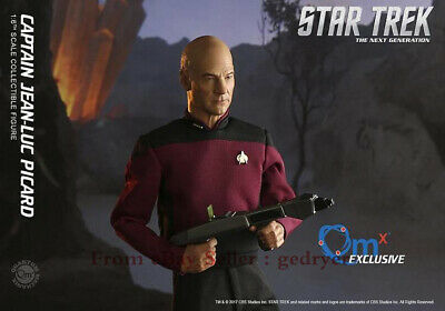 $ CDN482.11 • Buy QMx 1/6 Star Trek TNG Picard Classic Collection Action Figure In Stock PVC NEW