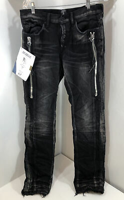 PRPS Goods & Co. Demon Black UNRELEASED SAMPLE Denim Jeans Size 32 • 178.81£