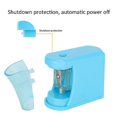 £5.46 • Buy Electric Pencil Sharpener Blue Auto Portable Children Student Learning Tools