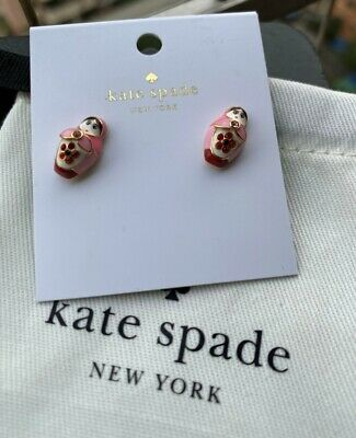 $ CDN26.78 • Buy Kate Spade New York Ooh La La Dollface Studs Earrings