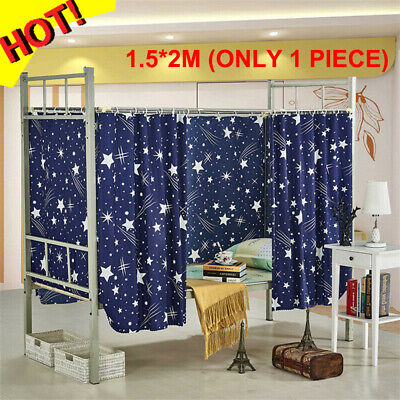 Cabin Bunk Bed Tent Curtain Cloth Dormitory Mid-Sleeper Bed Canopy Spread Screen • 7.59£