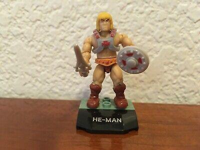 $3.49 • Buy Masters Of The Universe Mega Construx He-Man Minifigure Loose Mint From 5-Pack