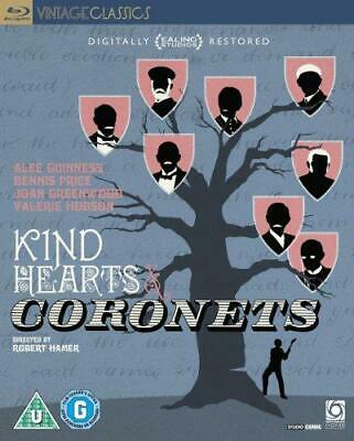 Kind Hearts And Coronets - Digitally Restored (80 Years Of Ealing) [Blu-ray] [19 • 10.69£