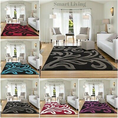 Modern Design Area Rugs Home Décor Living Room Bedroom Carpets Runner Floor Mats • 69.95£