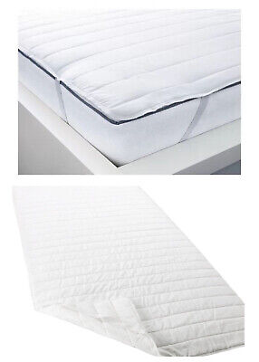 SINGLE IKEA MATTRESS COVER PROTECTOR WHITE SKYDDA LATT 35  X 75  (90cm X 190cm) • 13.99£