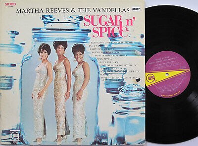 MARTHA REEVES AND THE VANDELLAS LP, Sugar And Spice (GORDY US Issue) • 16.90£