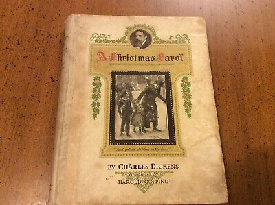 £20 • Buy A Christmas Carol Charles Dickens Harold Copping Illustrated Antiquarian C1920